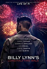 Poster do filme A Longa Caminhada de Billy Lynn