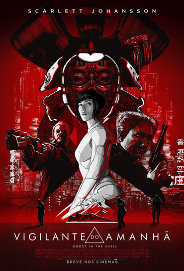 Poster do filme A Vigilante do Amanhã: Ghost in the Shell
