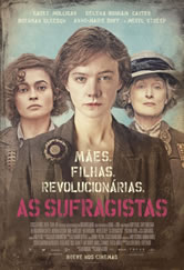 Poster do filme As Sufragistas