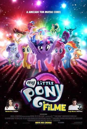 Poster do filme My Little Pony - O Filme