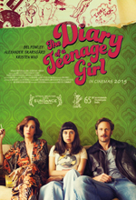 Poster do filme The Diary of a Teenage Girl