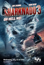 Poster do filme Sharknado 3