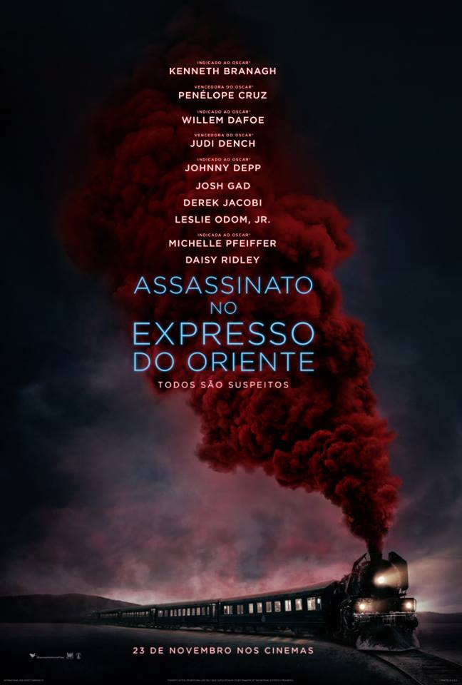 Poster do filme Assassinato no Expresso Oriente