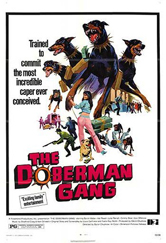 Poster do filme A Gangue dos Dobermans