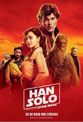Poster do filme Han Solo: Uma História Star Wars