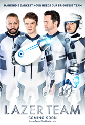Poster do filme Lazer Team