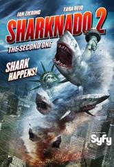 Poster do filme Sharknado 2: A Segunda Onda