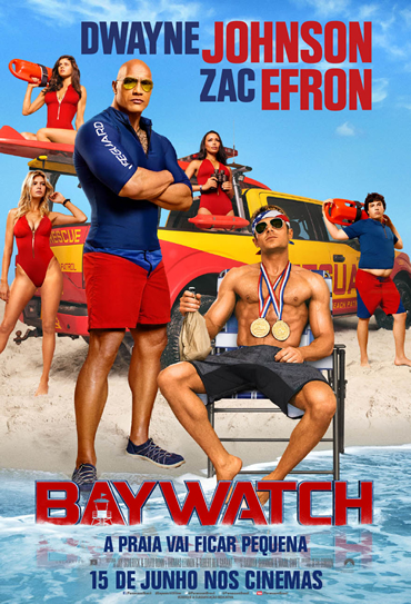 Poster do filme Baywatch - S.O.S Malibu