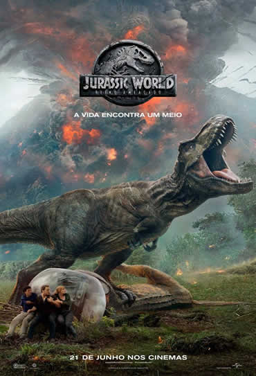 Poster do filme Jurassic World 2: Reino Ameaçado