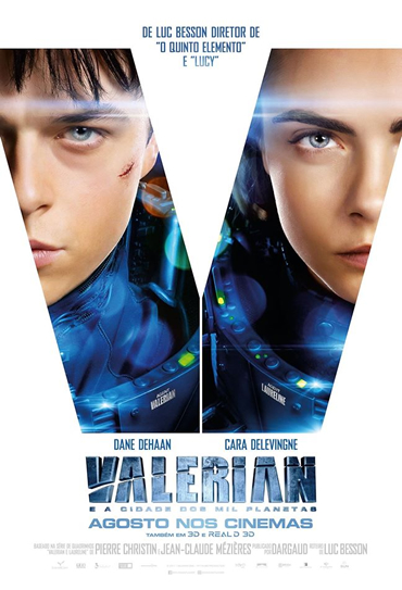 Capa Valerian and the City of a Thousand Planets Torrent 720p 1080p 4k Dublado Baixar