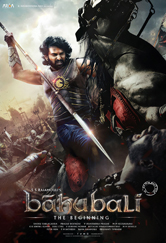 Capa Baahubali The Beginning Torrent Dublado 720p 1080p 5.1 Baixar