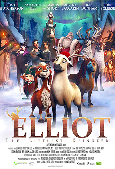Poster do filme Elliot: The Littlest Reindeer