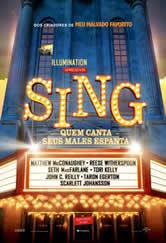 Poster do filme Sing - Quem Canta Seus Males Espanta