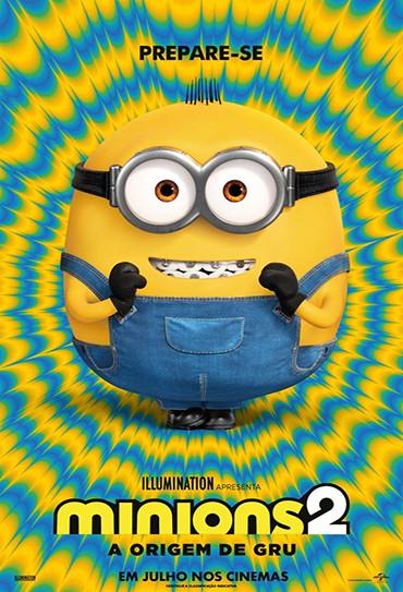 Poster do filme Minions 2 - A Origem de Gru