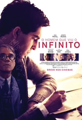 Poster do filme O Homem que Viu o Infinito
