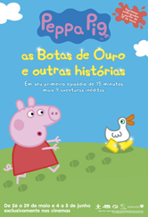 Poster do filme Peppa Pig - As Botas de Ouro e Outras Histórias
