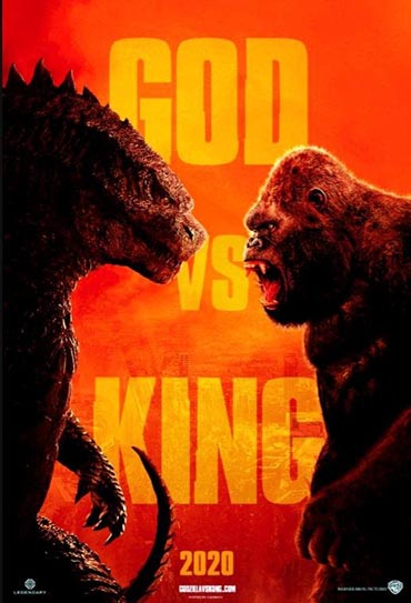Poster do filme Godzilla vs. Kong