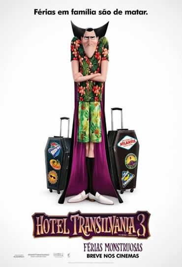 Poster do filme Hotel Transilvânia 3 - Férias Monstruosas