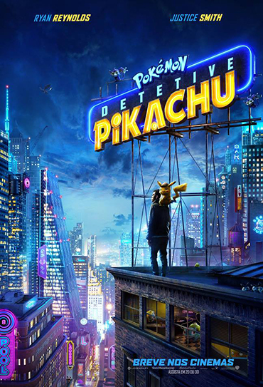 Poster do filme Pokémon - Detetive Pikachu