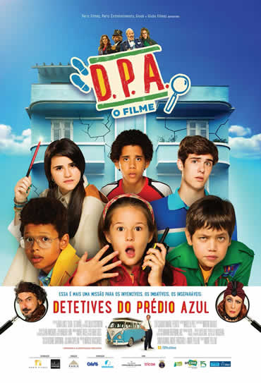 Poster do filme Detetives do Prédio Azul - O Filme