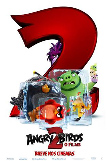 Poster do filme Angry Birds: O Filme 2