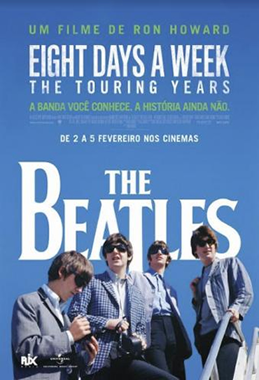 Poster do filme The Beatles: Eight Days a Week - The Touring Years