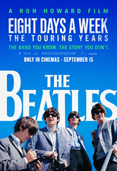 Capa The Beatles: Eight Days a Week The Touring Years Torrent Dublado 720p 1080p 5.1 Baixar