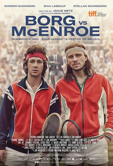 Poster do filme Borg vs McEnroe