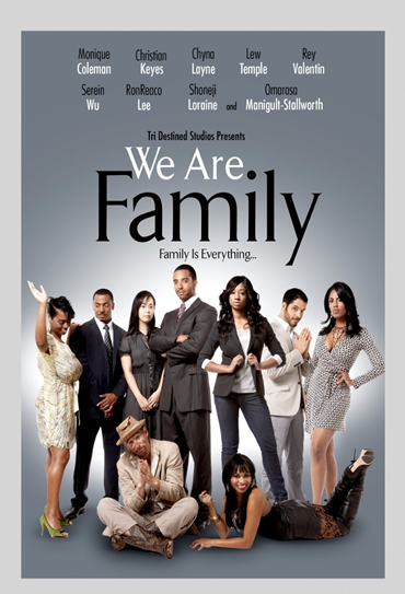 Poster do filme We Are Family
