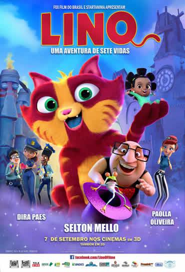 Poster do filme Lino - Uma Aventura de Sete Vidas