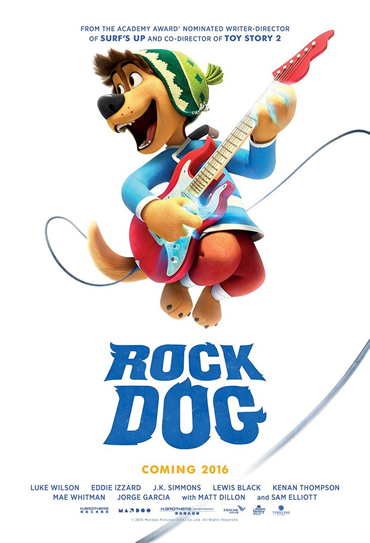 Capa Rock Dog No Faro do Sucesso Torrent 720p 1080p Dublado Baixar