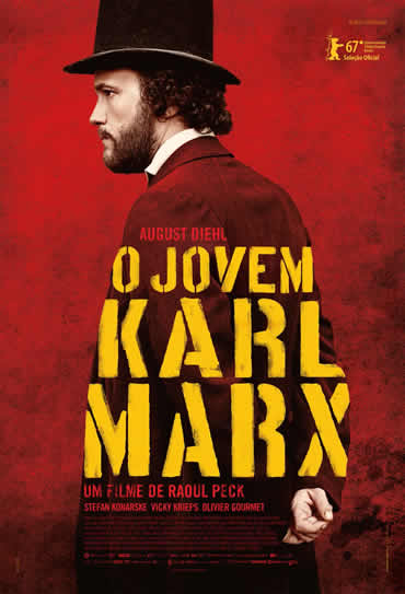 Poster do filme O Jovem Karl Marx