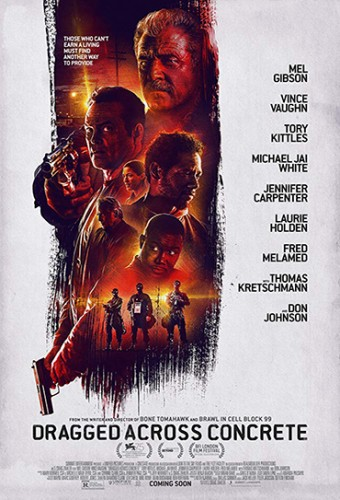 Poster do filme Dragged Across Concrete