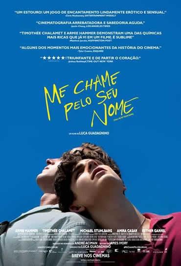 Poster do filme Me Chame Pelo Seu Nome