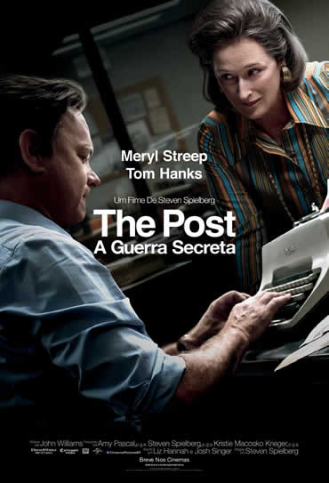 Poster do filme The Post - A Guerra Secreta