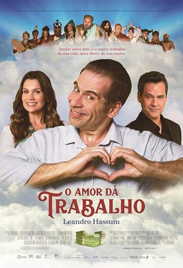 Poster do filme O Amor Dá Trabalho