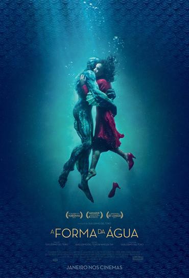 Poster do filme A Forma da Água