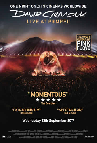 David Gilmour: Live In Pompeii
