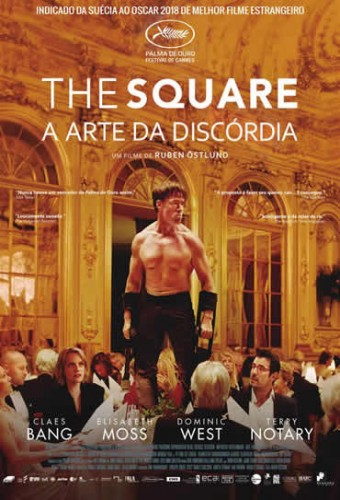 Poster do filme The Square - A Arte da Discórdia