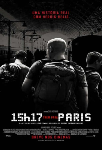 Poster do filme 15h17 - Trem para Paris