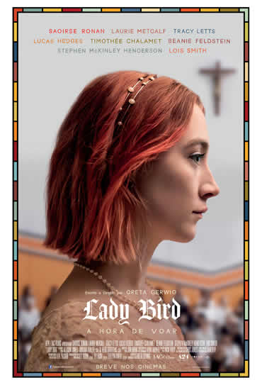 Poster do filme Lady Bird - A Hora de Voar