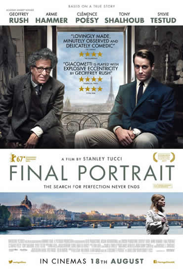 Poster do filme Final Portrait