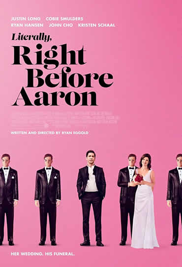 Poster do filme Literally, Right Before Aaron
