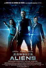 Poster do filme Cowboys & Aliens