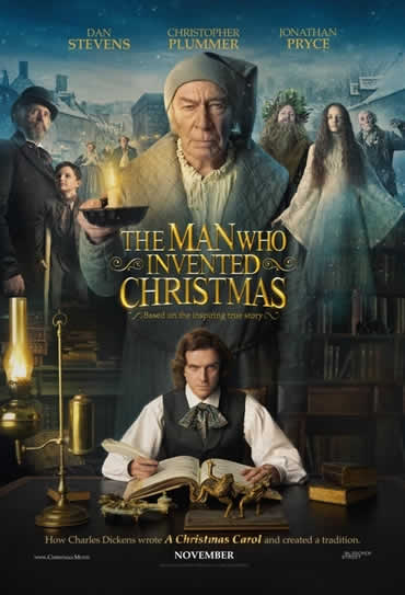 Poster do filme The Man Who Invented Christmas