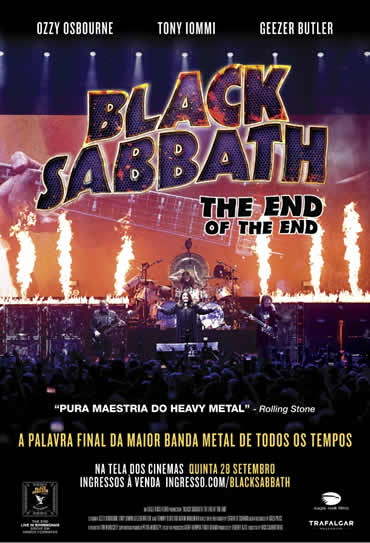 Poster do filme Black Sabbath - The End of the End