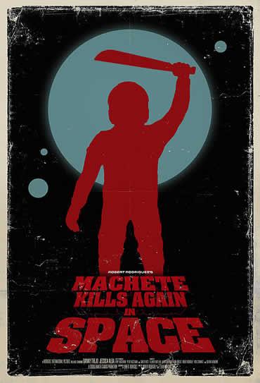Poster do filme Machete Kills in Space