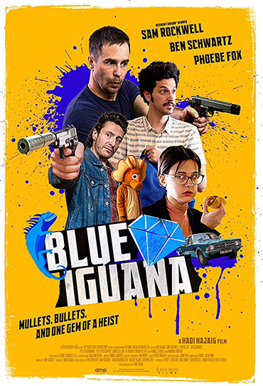 Poster do filme Blue Iguana
