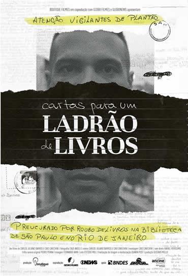 Poster do filme Cartas para um Ladrão de Livros