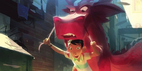 Imagem 2 do filme Din e o Dragão Genial